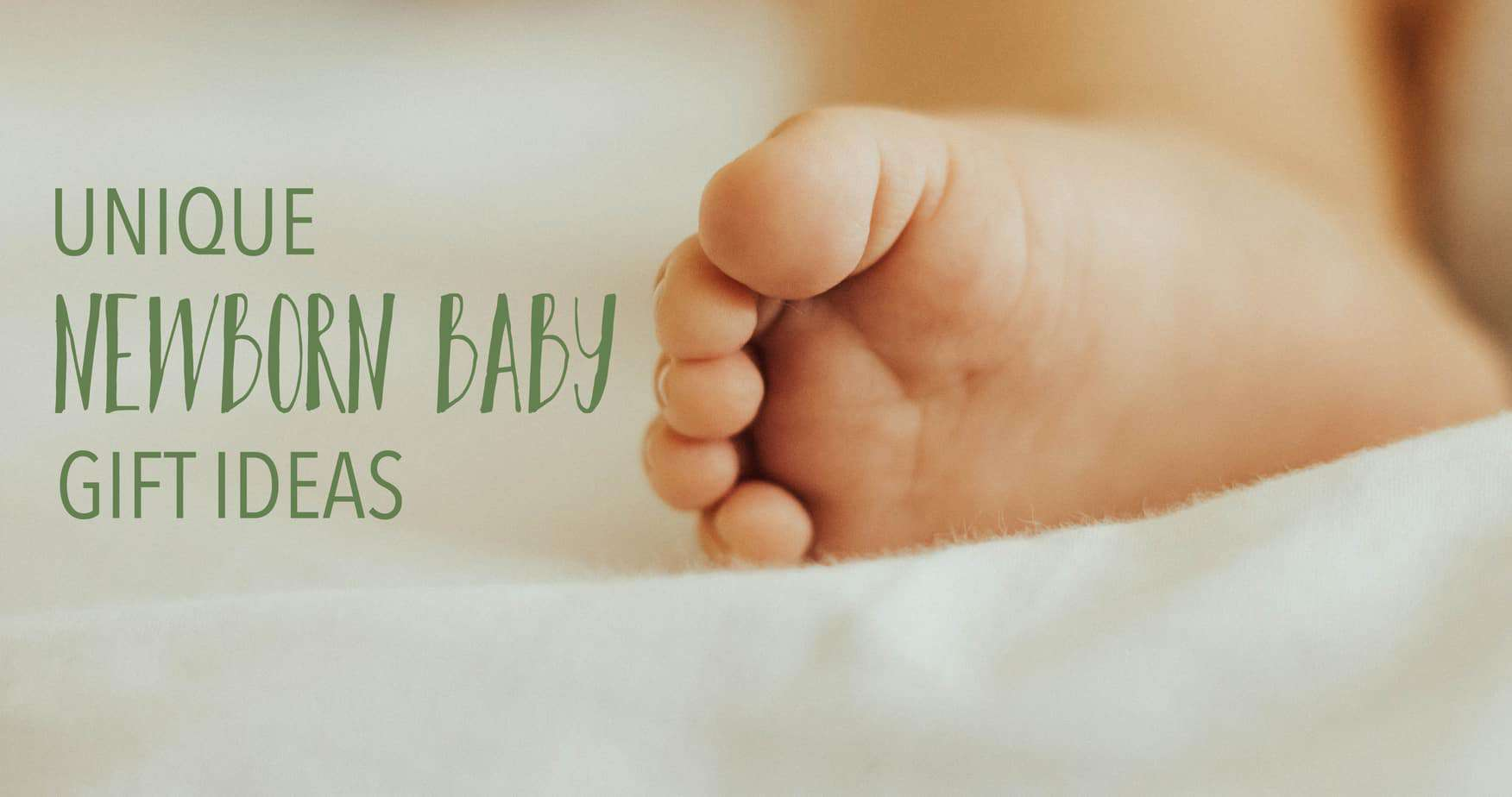 Unique newborn baby gift ideas to welcome home baby boy or girl
