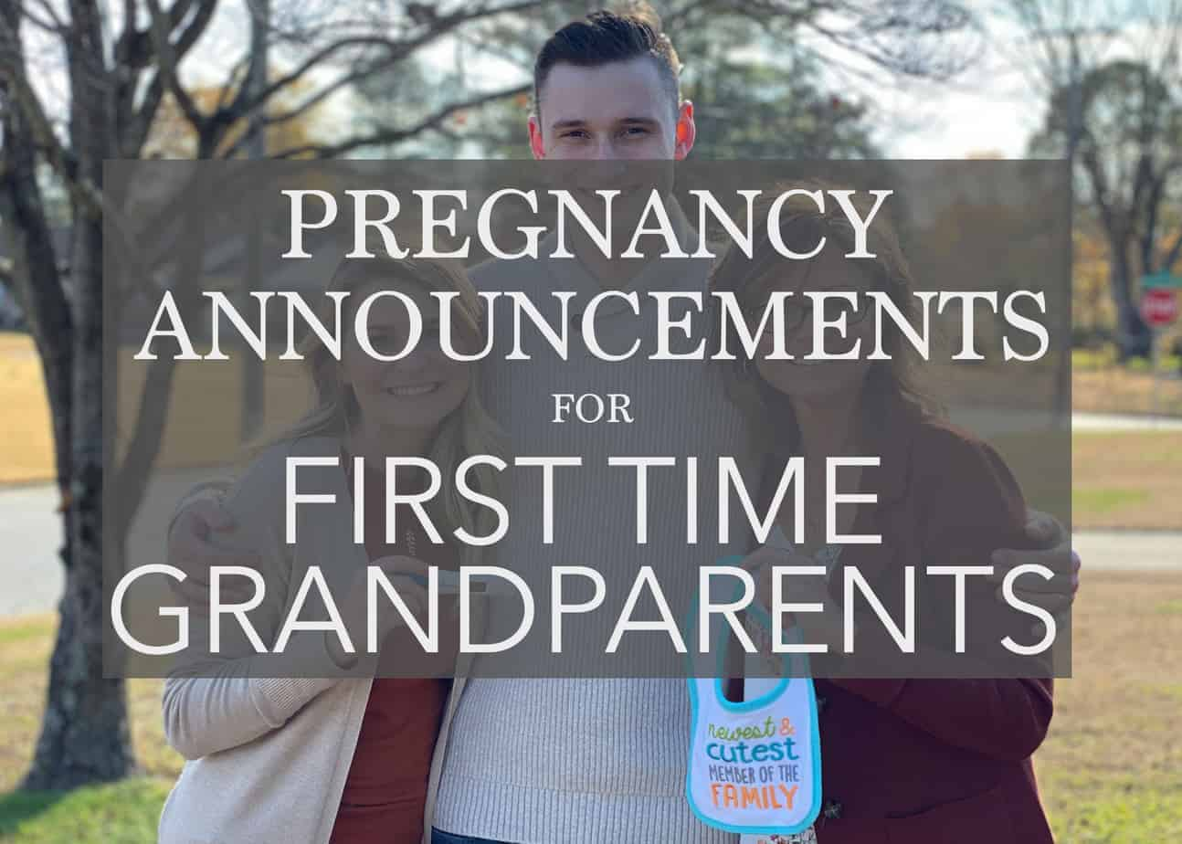 The Sweetest First Time Grandparent Announcement Gift Ideas