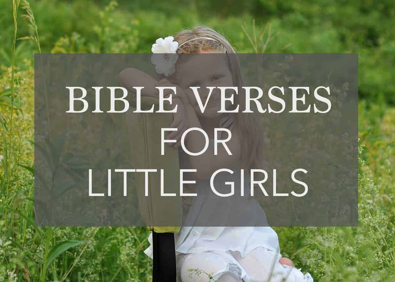 Bible Verses for Little Girls