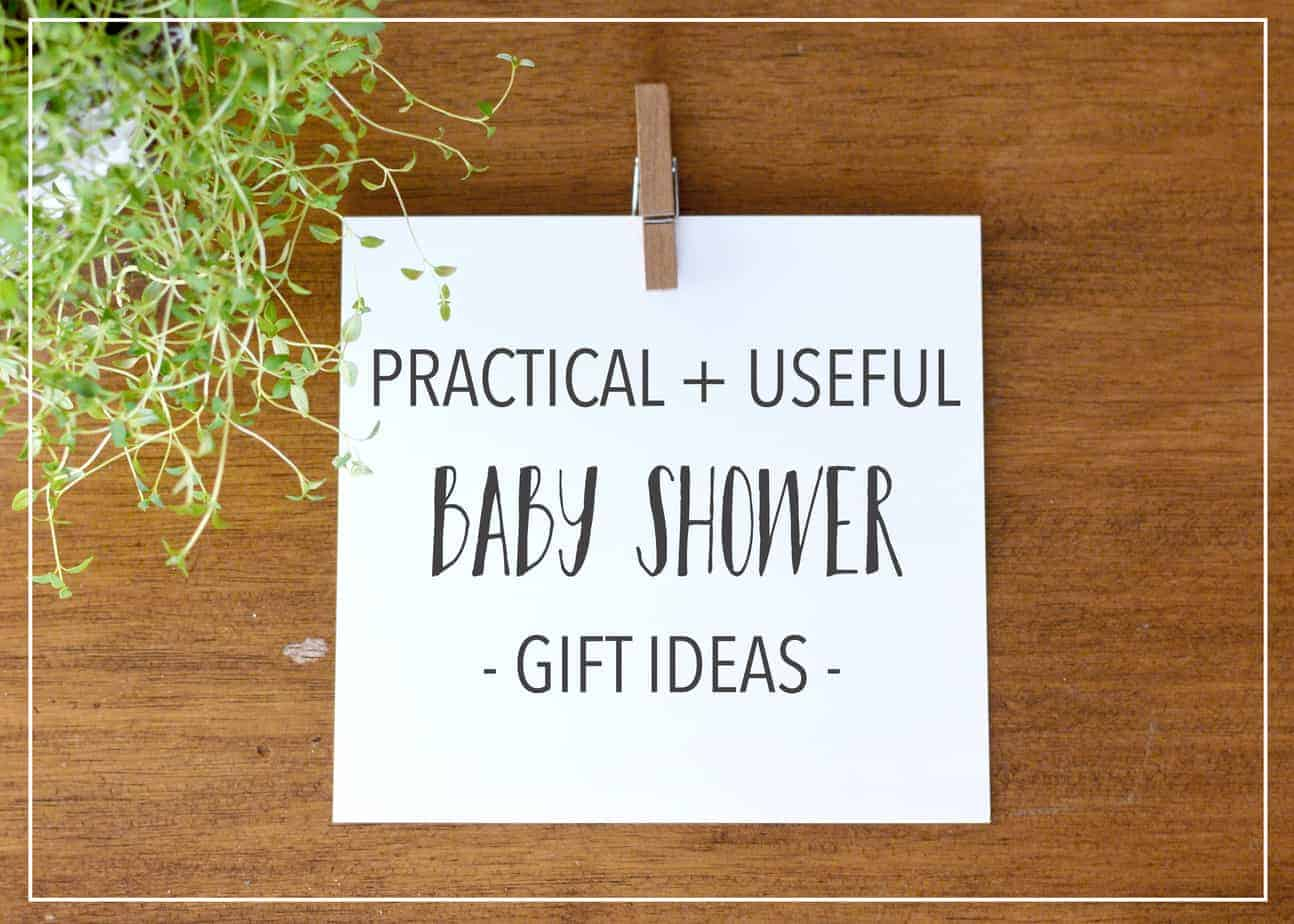 practical and useful baby shower gifts