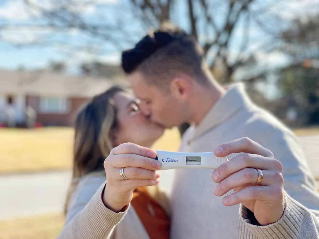 How we found out that we're pregnant
