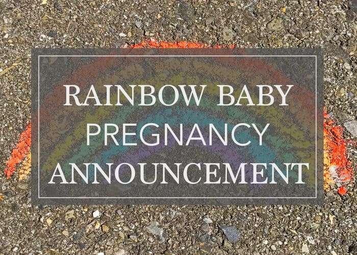 7 Wonderful Ideas for Your Rainbow Baby Pregnancy Announcement