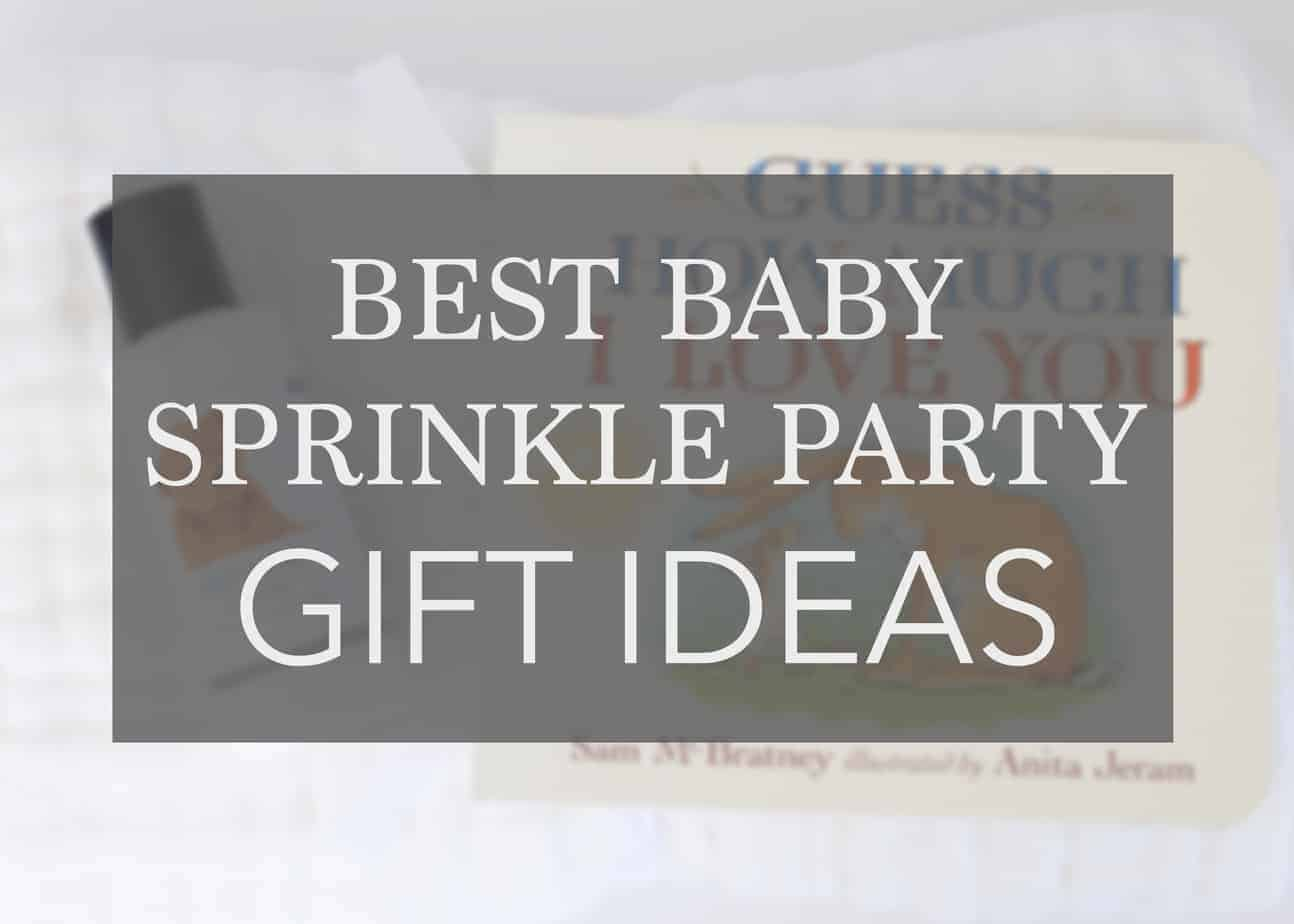 17 Sprinkle Baby Gift Ideas for the Parents-to-Be… Again!