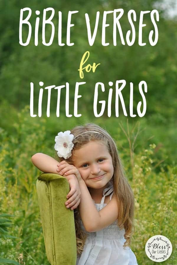 Sweetest Bible Verses for Little Girls