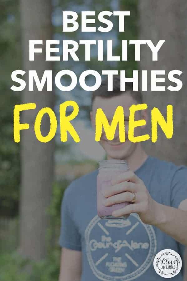 best fertility smoothies for men