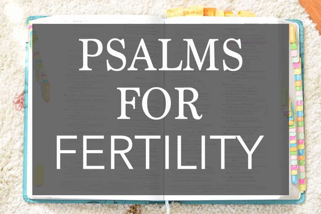 13 Psalms for Fertility – Praying With Psalms for Pregnancy