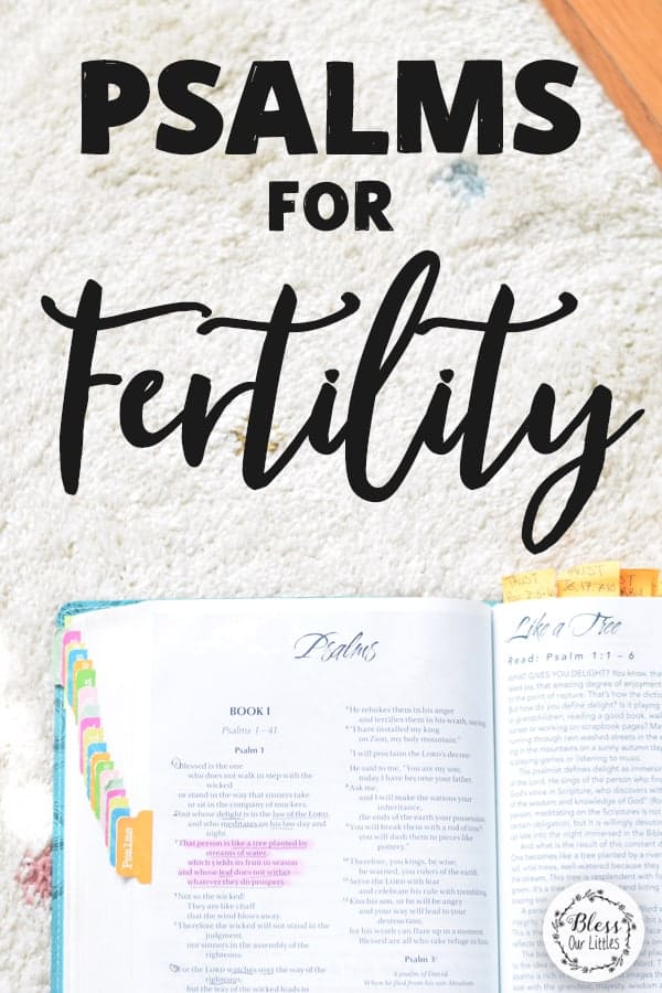 Psalms for Fertility