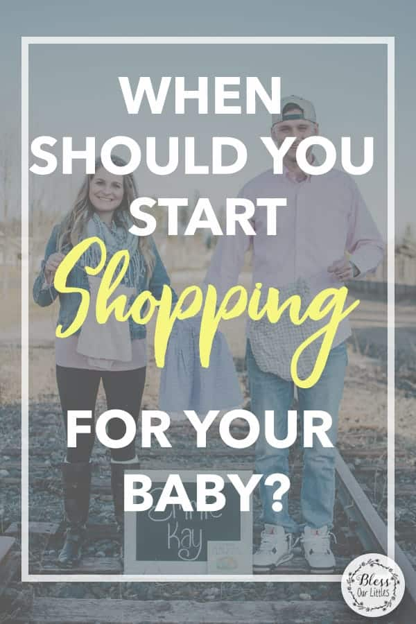When Should you Start Shopping for your Baby