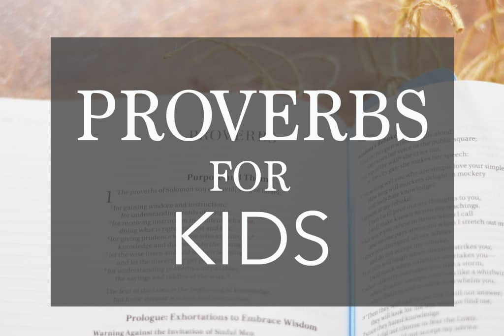 13 Best Proverbs for kids