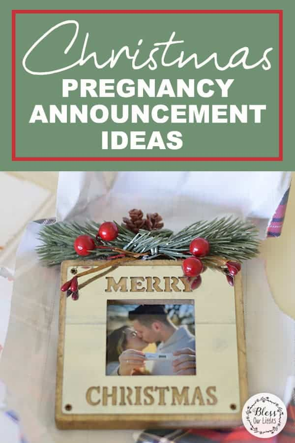 Christmas Pregnancy Announcement Ideas
