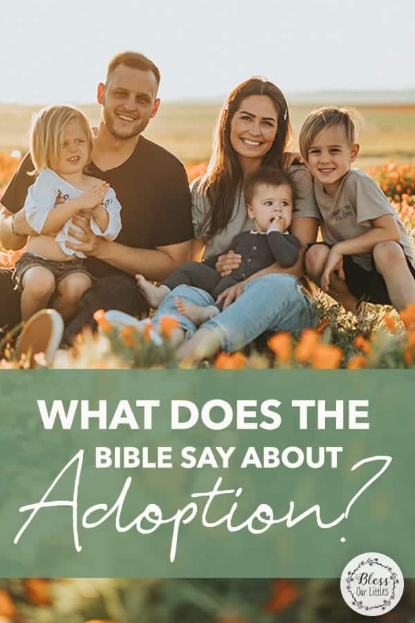 what does the bible say about adoption