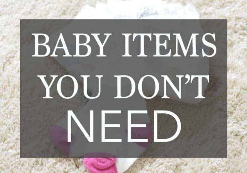 Baby Items You Don't Need – 8 Items to AVOID on Your Registry