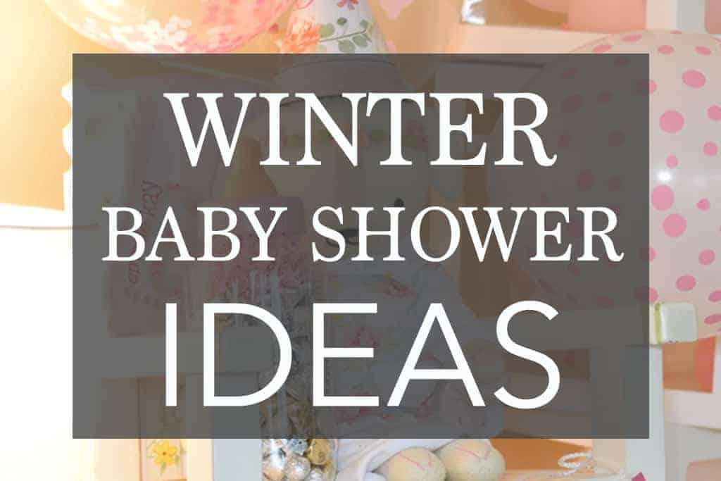 winter baby shower ideas cover