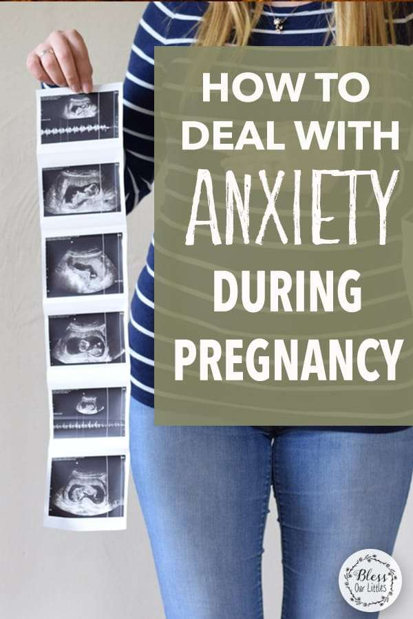 deal with anxiety during pregnancy