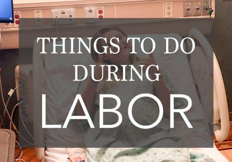 22 Things to do During Labor – So Contractions Don't Hurt