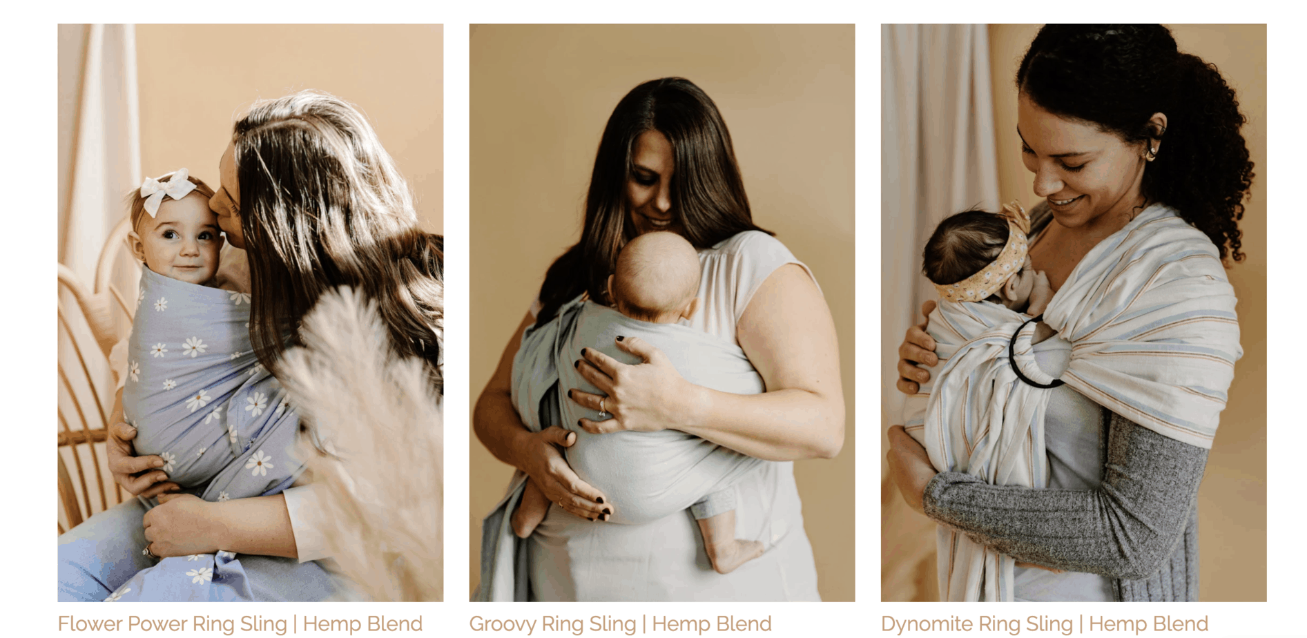 hope and plum ring sling colors