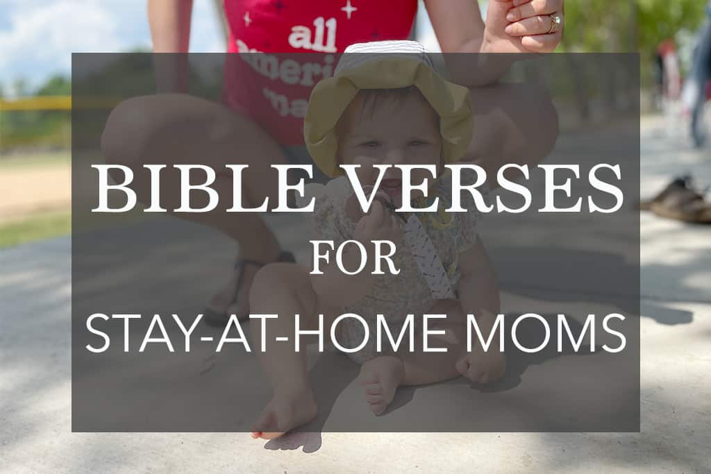 bible verses for stay at home moms main image