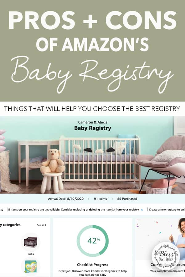 pros and cons of amazon baby registry to help you decide if it's right for you